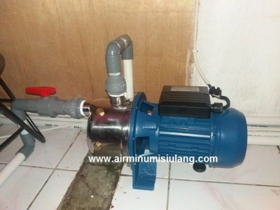 Pompa Stainless pengisian air RO