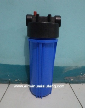 Housing Filter Blue 10 inch with Double Seal